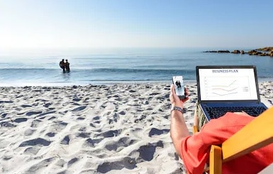 Want to Work from the Beach?